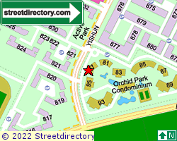ORCHID PARK CONDOMINIUM | Location & Map