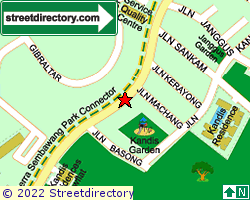 SEMBAWANG STRAITS ESTATE | Location & Map