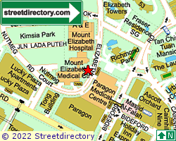 MOUNT ELIZABETH MEDICAL CENTRE | Location & Map