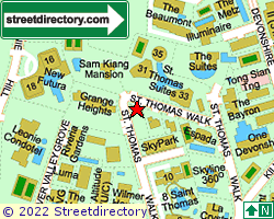 ST THOMAS LODGE | Location & Map