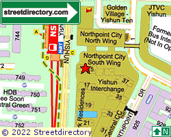 NORTH PARK RESIDENCES | Location & Map