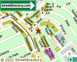 SIN MING PLAZA | Location & Map