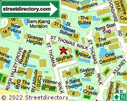 ST THOMAS VILLE | Location & Map