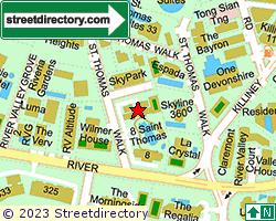8 SAINT THOMAS | Location & Map