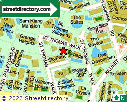 ST THOMAS COURT | Location & Map