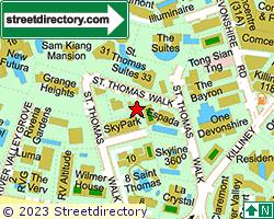 ST THOMAS COURT | Location & Map