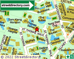ST THOMAS SUITES | Location & Map