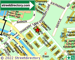 CHANCERY ESQUIRE | Location & Map