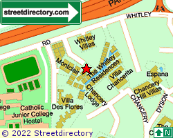 THE WHITLEY RESIDENCES | Location & Map