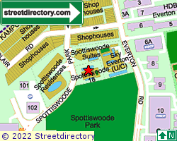 SPOTTISWOODE 18 | Location & Map