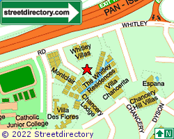 WHITLEY PARK | Location & Map