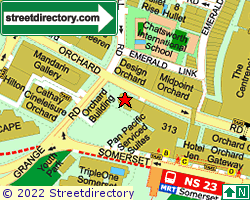 ORCHARD SHOPPING CENTRE | Location & Map