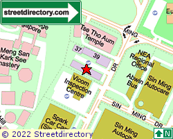 BLK 38, Sin Ming Drive | Location & Map