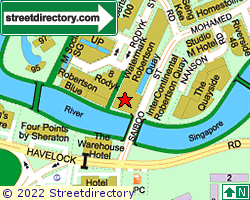 WATERMARK ROBERTSON QUAY | Location & Map