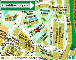 URBAN RESORT CONDOMINIUM | Location & Map
