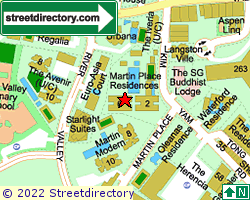 MARTIN PLACE RESIDENCES | Location & Map