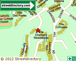 THE CHANCERY RESIDENCE | Location & Map