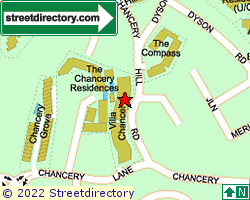 VILLA CHANCERY | Location & Map