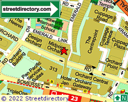 ORCHARD EMERALD CENTRE | Location & Map