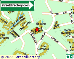 CHANCERY GARDEN | Location & Map