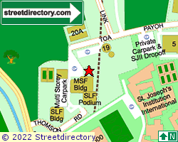 SINGAPORE LABOUR FOUNDATION COMPLEX | Location & Map