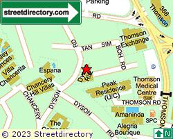 DYSON RITZ | Location & Map