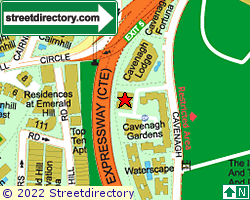 CAVENAGH GARDENS | Location & Map