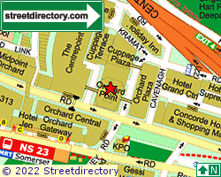 SOMERSET ORCHARD RESIDENCES | Location & Map
