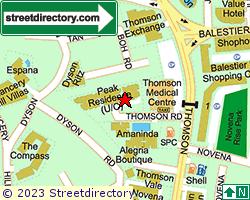 PEAK COURT CONDOMINIUM | Location & Map
