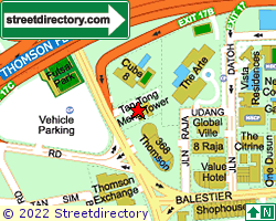 TAN TONG MENG TOWER | Location & Map