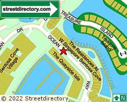 W RESIDENCES @ SENTOSA COVE | Location & Map