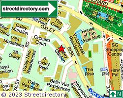 OXLEY GARDEN | Location & Map