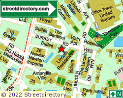 SURREY COURT | Location & Map