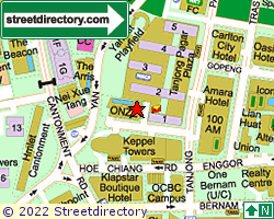 ONZE @ TANJONG PAGAR | Location & Map