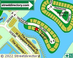 TREASURE ISLAND | Location & Map