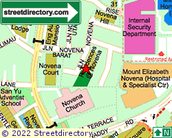 RESIDENCES @ NOVENA | Location & Map