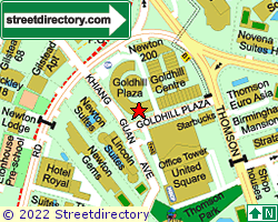 GOLDHILL PLAZA | Location & Map