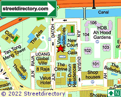 VISTA RESIDENCES | Location & Map