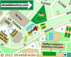 RAFFLESIA CONDOMINIUM | Location & Map