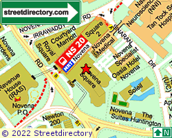 NOVENA SQUARE | Location & Map