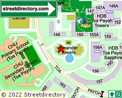 OLEANDER TOWERS | Location & Map