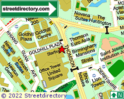 GOLDHILL SHOPPING CENTRE | Location & Map
