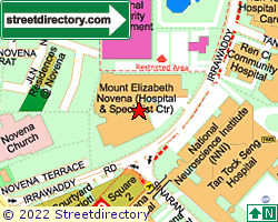 MOUNT ELIZABETH NOVENA HOSPITAL | Location & Map