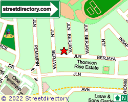 THOMSON RISE ESTATE | Location & Map