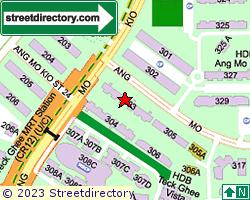 Blk 303, Ang Mo Kio Avenue 1 | Location & Map