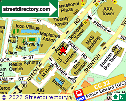 ANSON CENTRE | Location & Map
