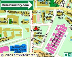 THE CENTRIO | Location & Map