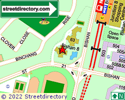 BISHAN 8 | Location & Map