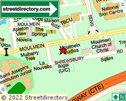 MOULMEIN GREEN | Location & Map