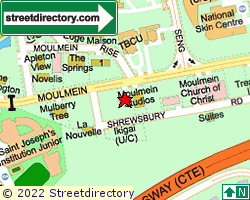 MOULMEIN STUDIOS | Location & Map